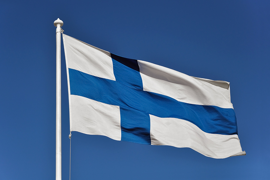 Flag of Finland flags wallpaper (2)