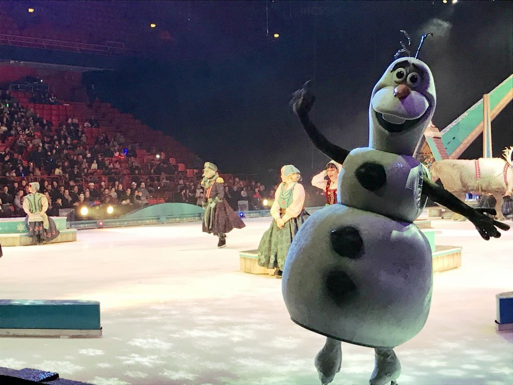 olof disney on ice